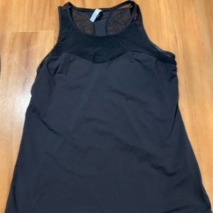 Fabletics tank with mesh